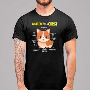 Anatomy of a Corgi Men's T-Shirt