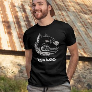 Badass Pitbull Muscle Men's T-Shirt