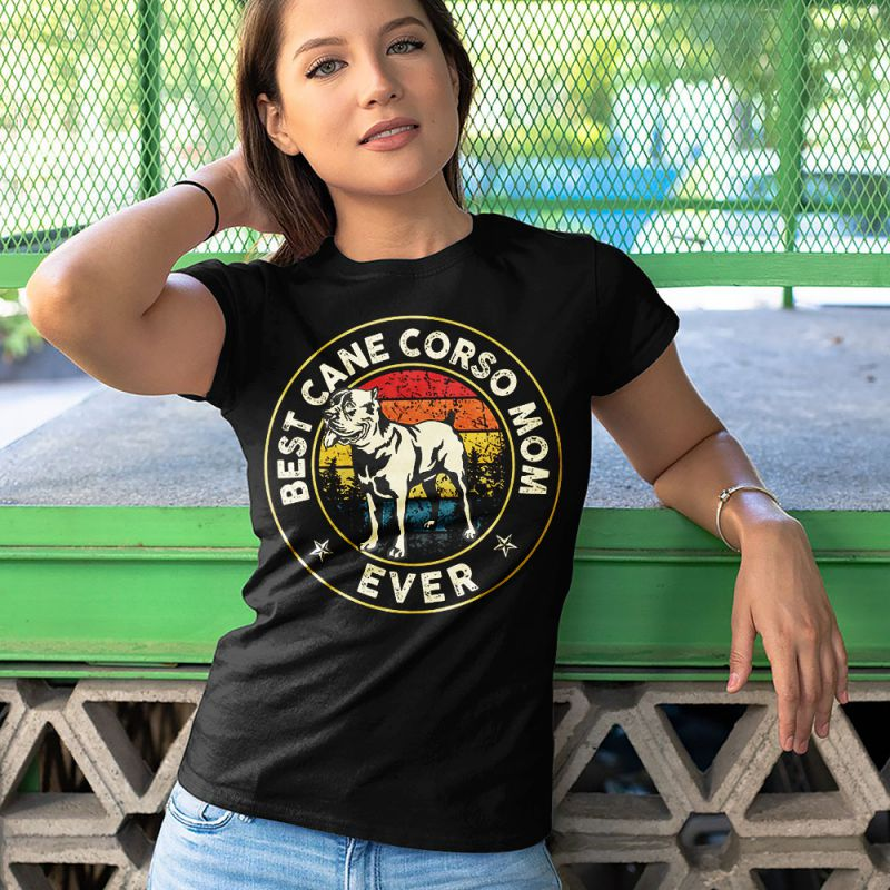 Best Cane Corso Mom Ever Vintage Women's T-Shirt