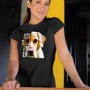 Best Friends For Life Yellow Labrador Women's T-Shirt