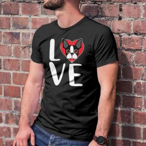 Boston Terrier Love Dog Owner Men's T-Shirt