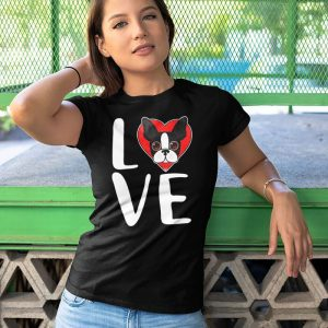 Boston Terrier Love Dog Owner Women's T-Shirt