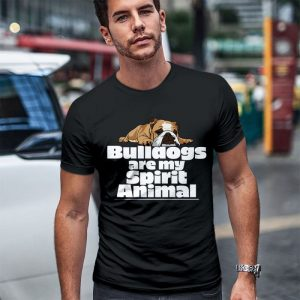 Bulldogs Are My Spirit Animal Men's T-Shirt
