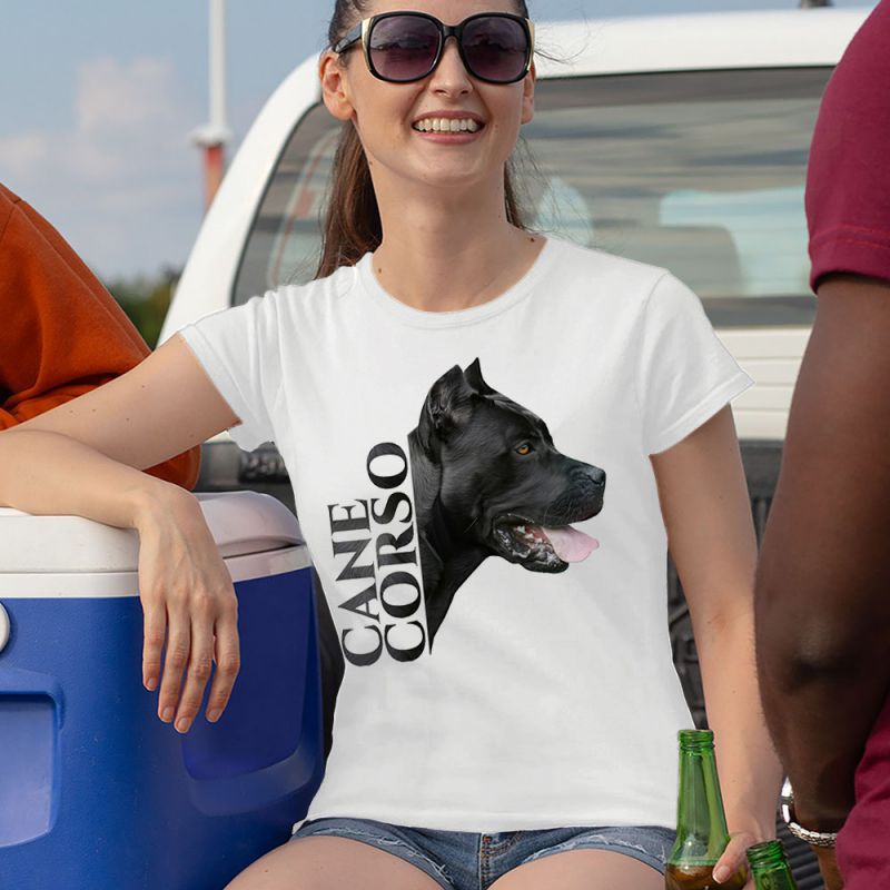 Cane Corso - Italian Mastiff Head Women's T-Shirt