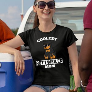 Coolest Rottweiler Mom Women's T-Shirt