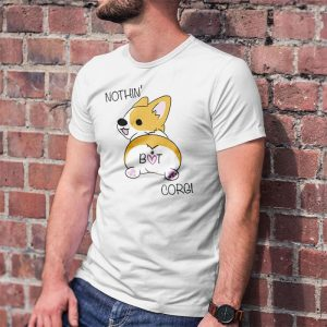 Corgi Butt - Nothin But Corgi Men's T-Shirt