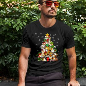 Corgi Christmas Tree Men's T-Shirt