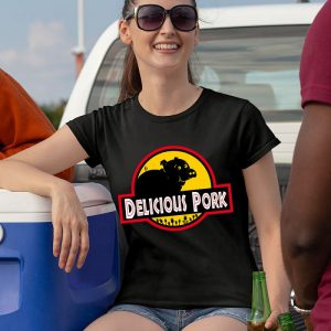 Delicious Pork - Jurassic Park Women's T-Shirt