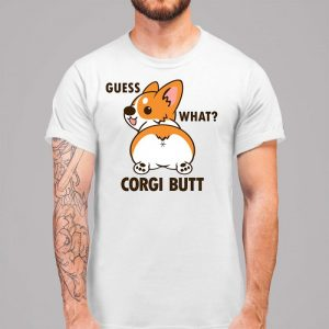 Guess What - Corgi Butt Men's T-Shirt