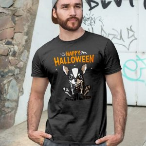 Happy Halloween Chihuahua - Skeleton Chihuahua Men's T-Shirt