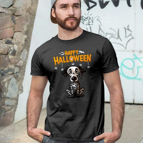 Happy Halloween Dachshund Skeleton Men's T-Shirt