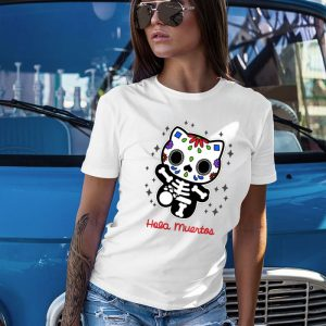 Hello Muertos - Hello Kitty Parody Women's T-Shirt