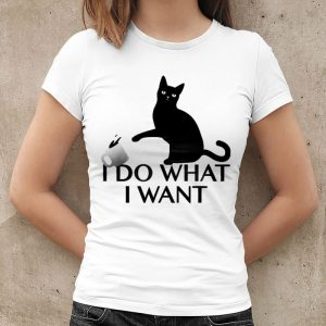I Do What I Want Cat 2 Women's T-Shirt