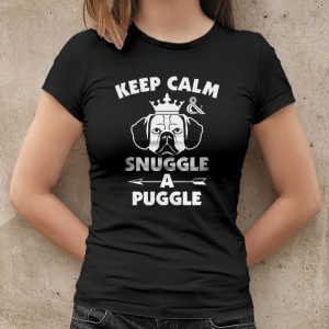 Keep Calm and Snuggle A Puggle Women's T-Shirt