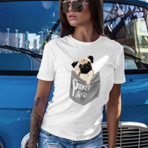 Pocket Pug - Cute Pug Puppy Women's T-Shirt