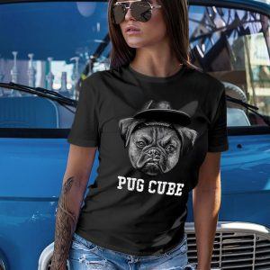 Pug Cube - Ice Cup Women's T-Shirt