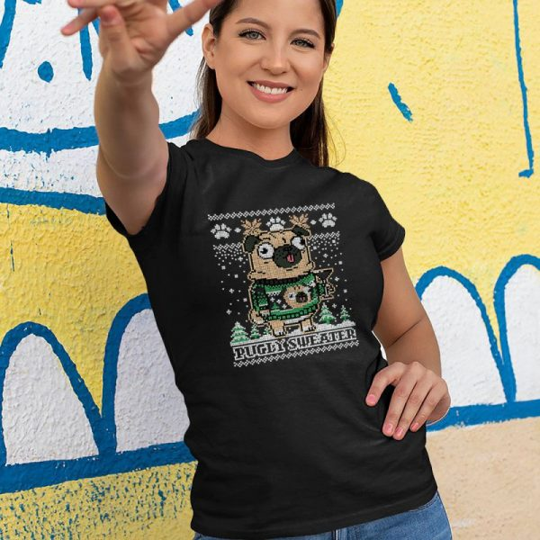 Pugly Sweater - Pug Ugly Sweater Women's T-Shirt