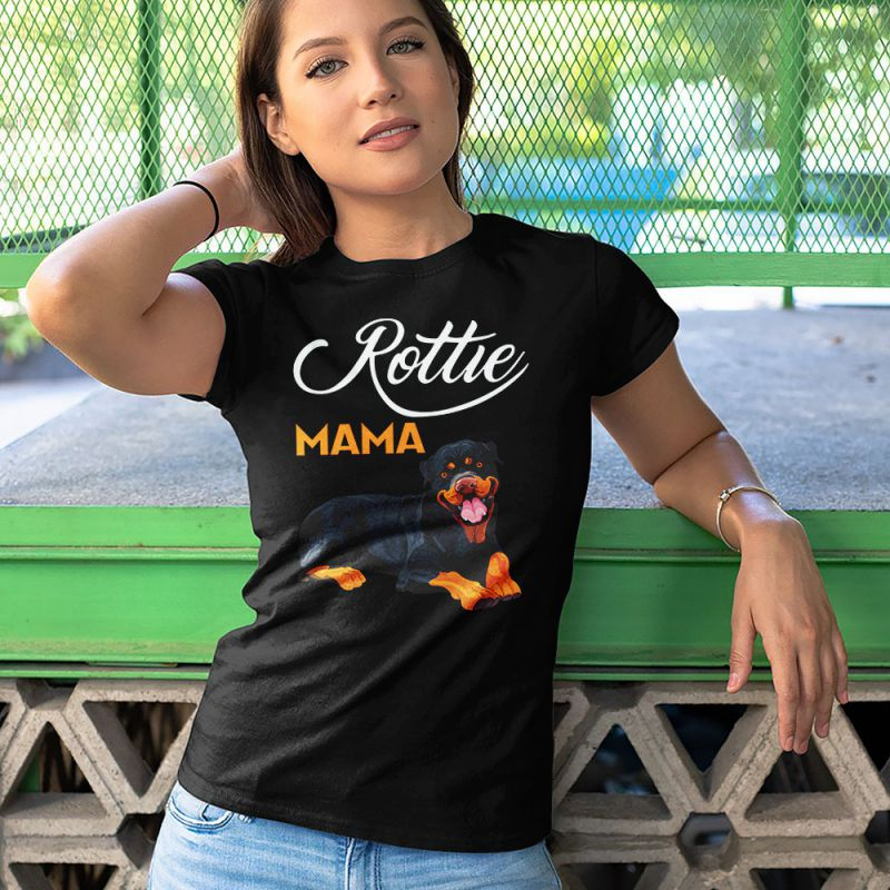 Rottie Mama - Rottweiler Mom Women's T-Shirt