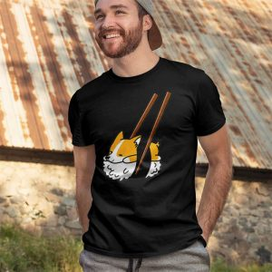 Sushi Corgi Men's T-Shirt