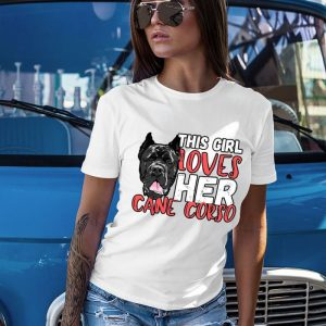This Girl Loves Her Cane Corso Women's T-Shirt
