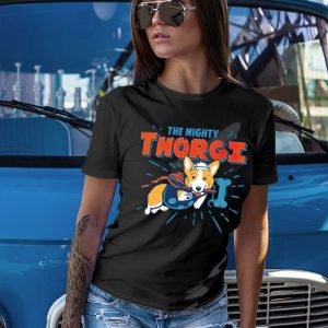 Thorgi - Funny Corgi Dog Thor Mashup Women's T-Shirt
