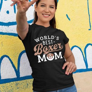 World's Best Boxer Mom Women's T-Shirt