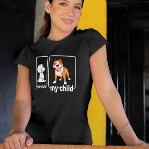 Your Child My Child Pitbull Mom or Dad Women's T-Shirt