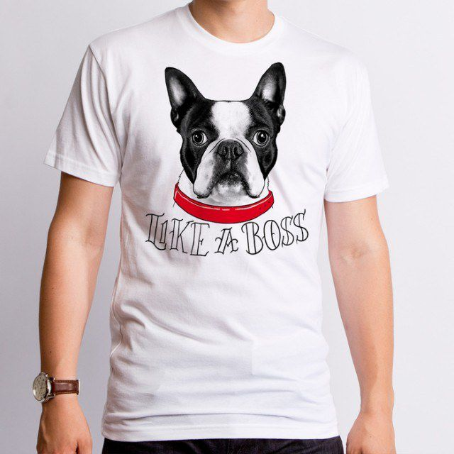 Best Boston Terrier Shirts for Human. Funny Boston Terrier T-Shirts
