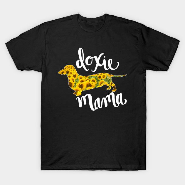 Best Dachshund Mom Shirts. Funny Doxie Mom T-Shirts and Hoodies