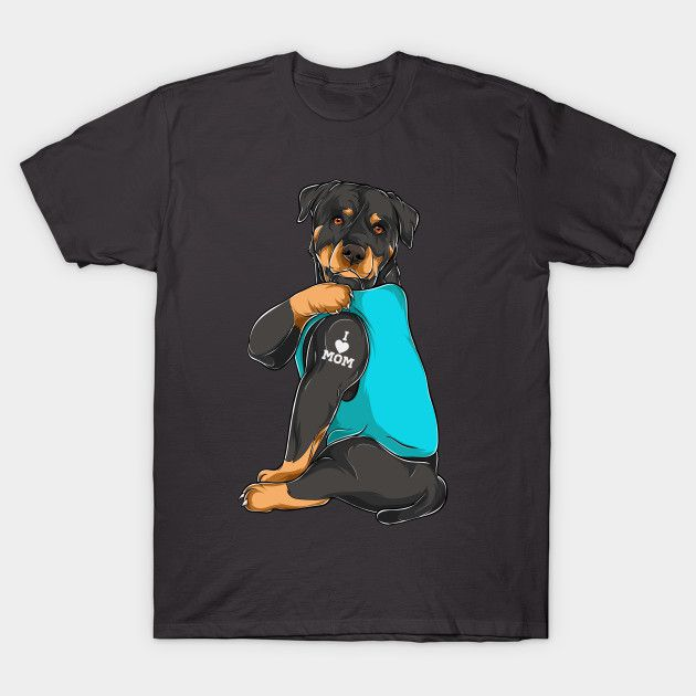 Best Rottweiler Mom Shirts. Rottie Mom T-Shirts for Women and Girls