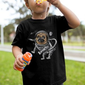 Astropug - Pug Astronaut Unisex Youth Kids T-Shirt