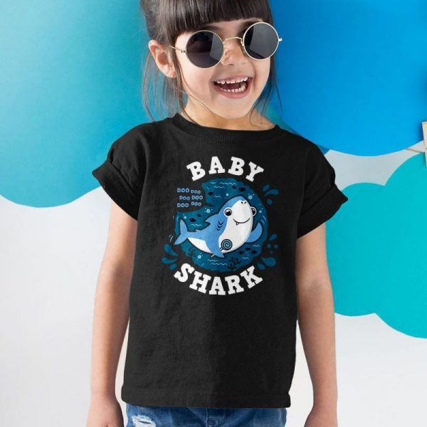 Baby Shark doo doo doo doo doo doo Unisex Youth Kids T-Shirt