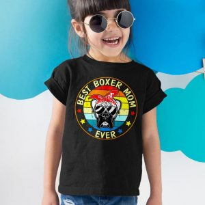 Best Boxer Mom Ever Unisex Youth Kids T-Shirt