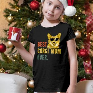 Best Corgi Mom Ever Unisex Youth Kids T-Shirt
