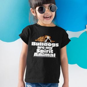 Bulldogs Are My Spirit Animal Unisex Youth Kids T-Shirt