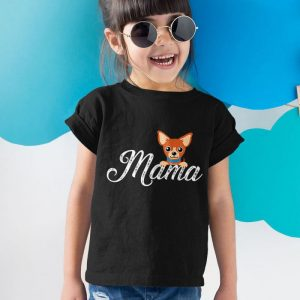 Chihuahua Mom - Chihuahua Mama Unisex Youth Kids T-Shirt