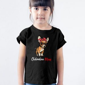 Chihuahua Mom Unisex Youth Kids T-Shirt