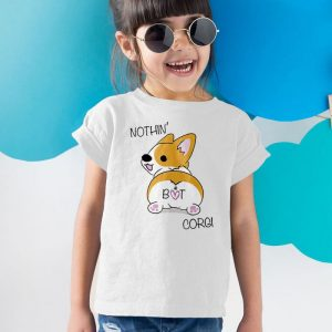Corgi Butt - Nothin But Corgi Unisex Youth Kids T-Shirt