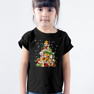 Corgi Christmas Tree Unisex Youth Kids T-Shirt