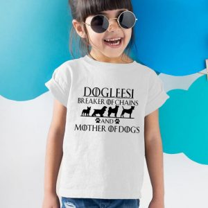 Dogleesi Unisex Youth Kids T-Shirt