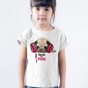 Doug the Pug Unisex Youth Kids T-Shirt