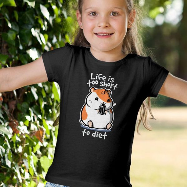 Fat Life - Life Is Too Short To Diet Unisex Youth Kids T-Shirt