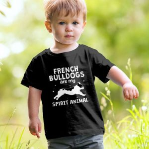 French Bulldog Spirit Animal Frenchie Unisex Youth Kids T-Shirt