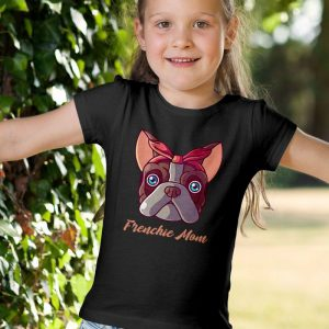 Frenchie Mom - French Bulldog Mom Unisex Youth Kids T-Shirt