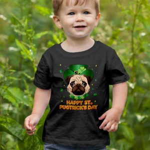 Happy St Patricks Day - Pugtricks Irish Pug Unisex Youth Kids T-Shirt