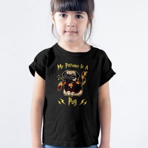 My Patronus Is A Pug Unisex Youth Kids T-Shirt
