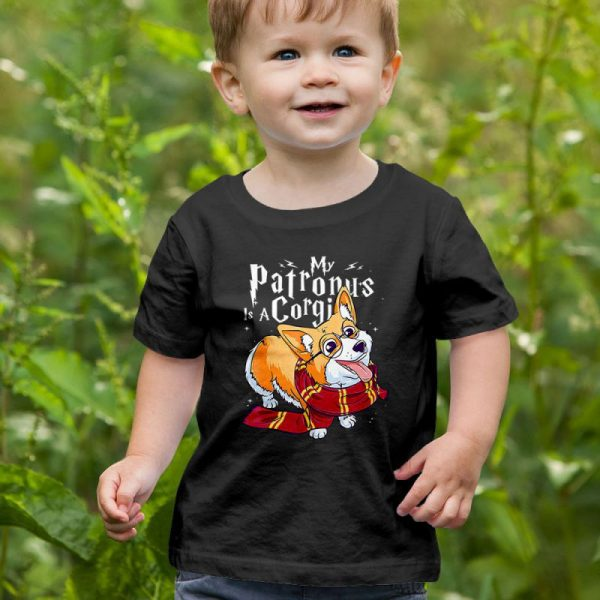 My Patronus is a Corgi - Corgi Potter Unisex Youth Kids T-Shirt