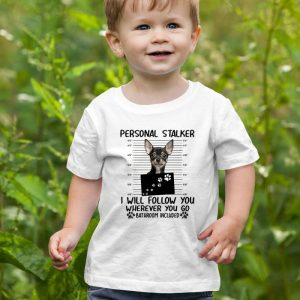 Personal Stalker Funny Chihuahua Unisex Youth Kids T-Shirt