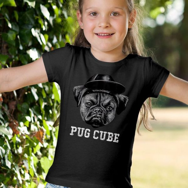 Pug Cube - Ice Cup Unisex Youth Kids T-Shirt