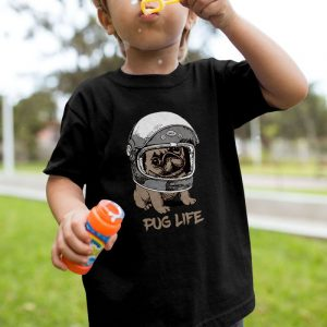 Pug Life 2 Unisex Youth Kids T-Shirt